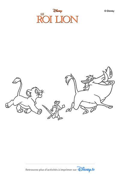 7 diff rences roi lion disney coloriages fr - Les aventures de timon et pumba ...