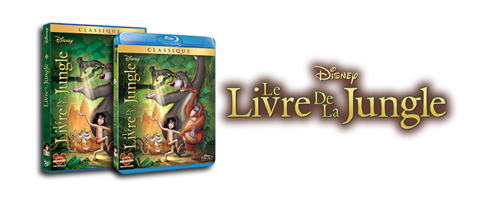 DVD / Blu-ray Le Livre de la Jungle