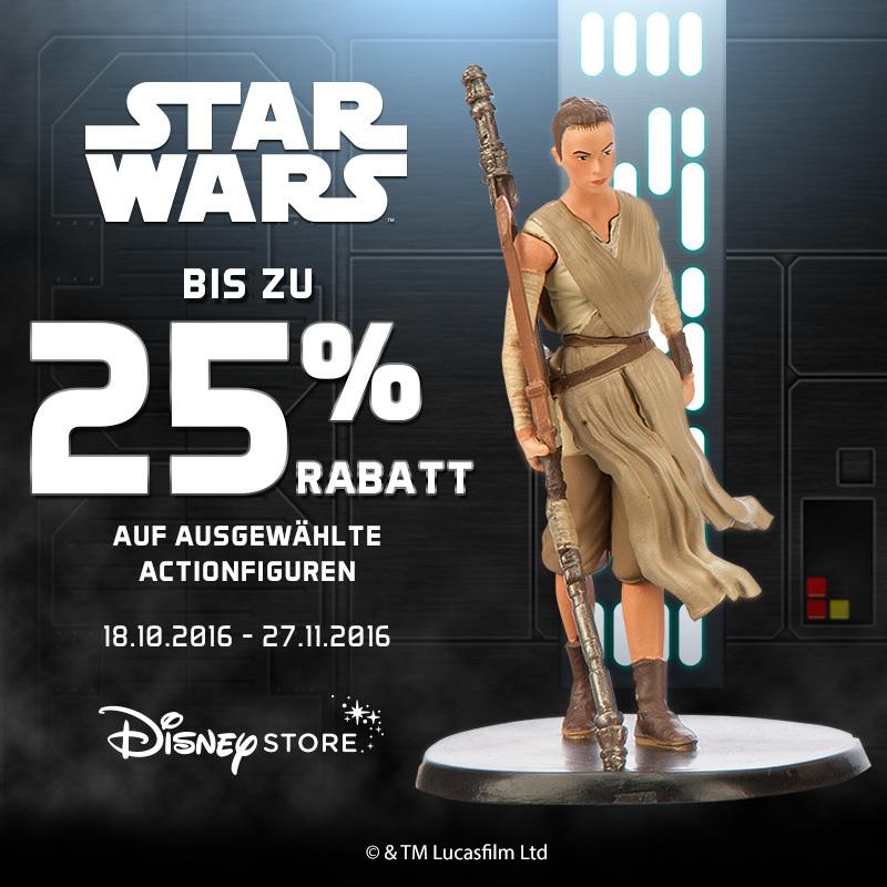 25% auf Star Wars Actionfiguren