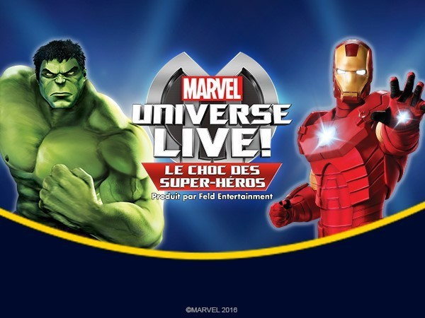 L'univers Marvel en spectacle !
