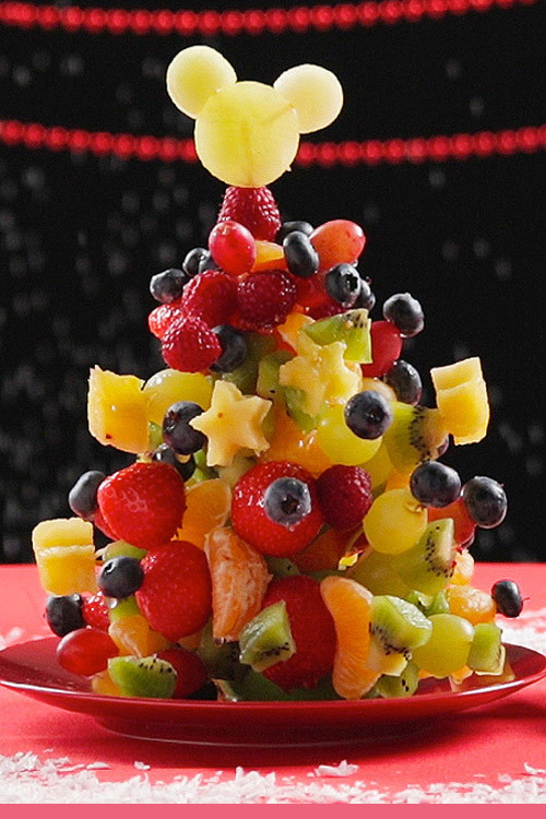Mickey's Fruit Christmas Tree