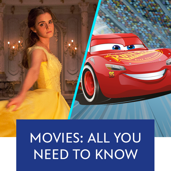 Stream Promo - Movies: All you need to know (Cars/BatB)