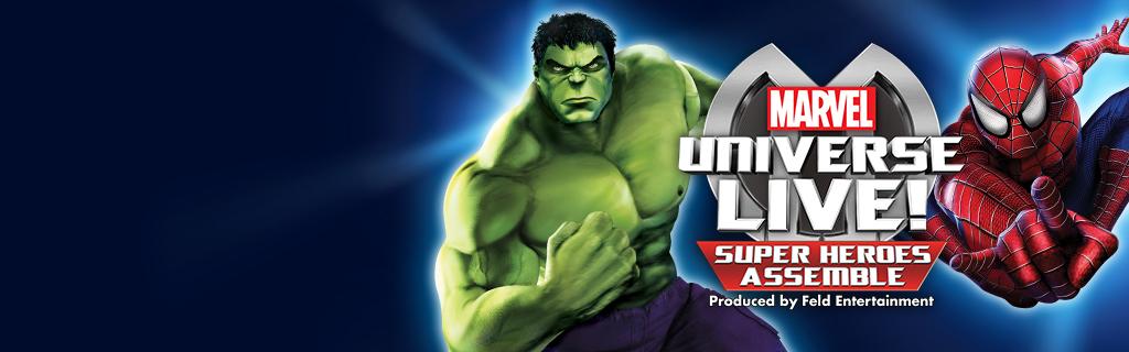 UK - Marvel Universe Live - Live Events Page (Hero Universal)