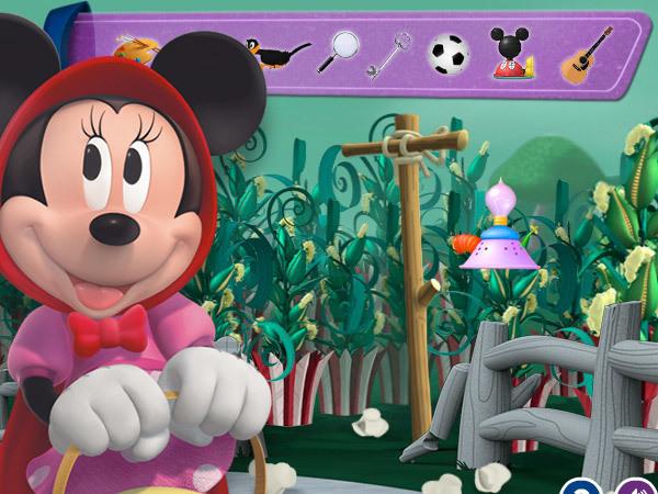 Minnie Explores The Land Of Dizz