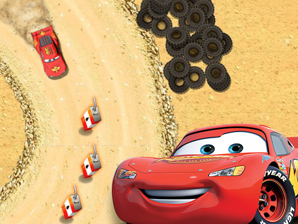 Lighning McQueen's Off-Road Training
