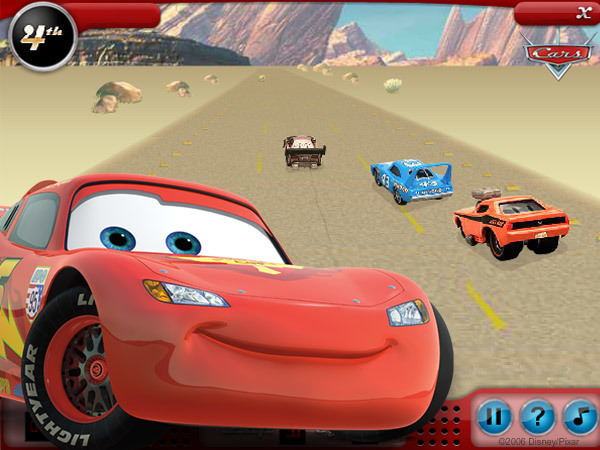 Lightning Mcqueen Cars  Adventure Games