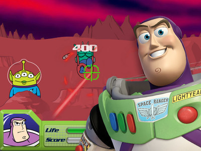 Buzz Lightyear's Galactic Shootout