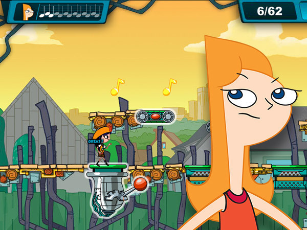 phineas spiele