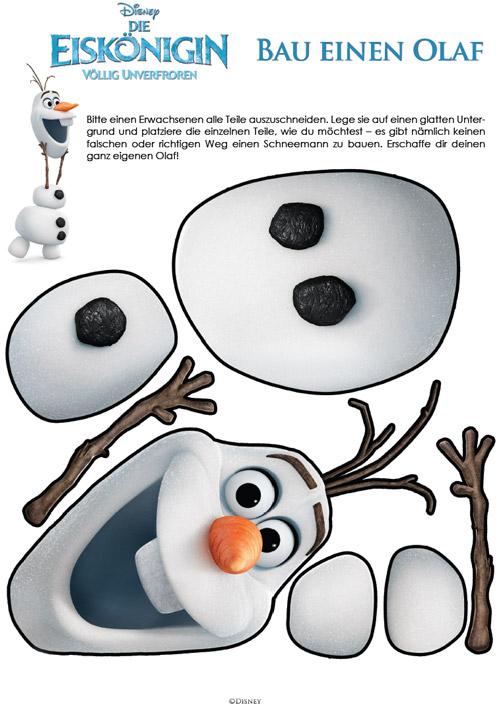 Die Eiskönigin - Baue einen Olaf
