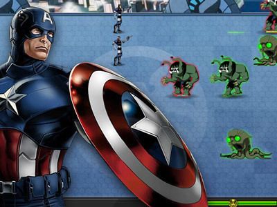 Avengers vs Monstres Gamma