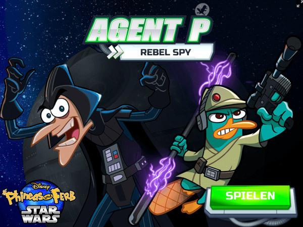 Phineas und Ferb - Rebel Spy