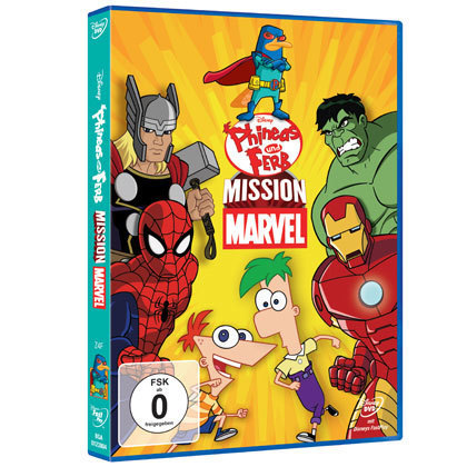 Disney Phineas und Ferb - Mission Marvel