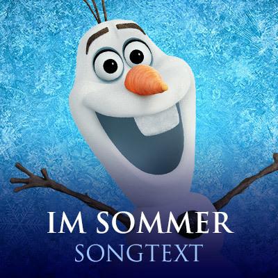 Eiskoenigin Songtext - Im Sommer