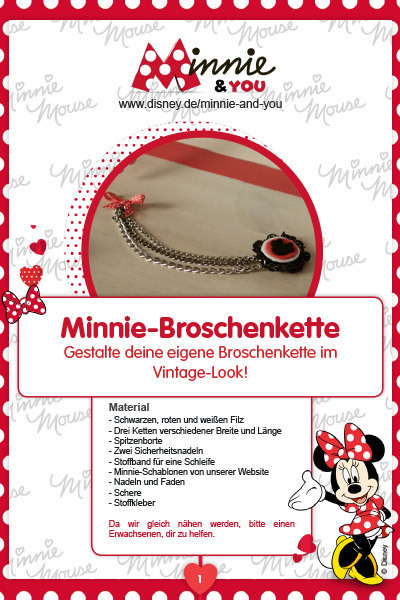 Minnie & You - Broschenkette