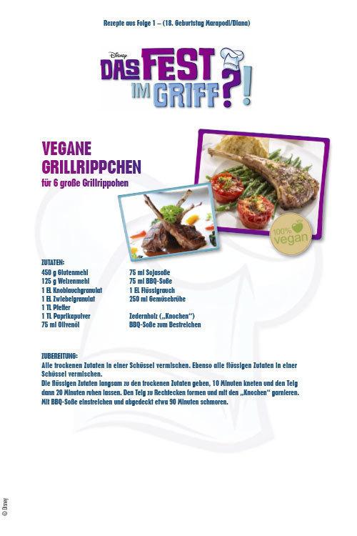 Das Fest im Griff - Vegane Grillrippchen
