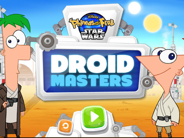 Phineas und Ferb - Droid Masters