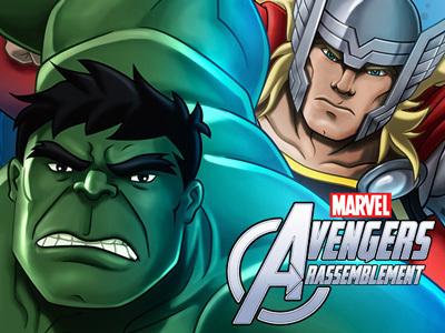 Jeux Avengers Rassemblement