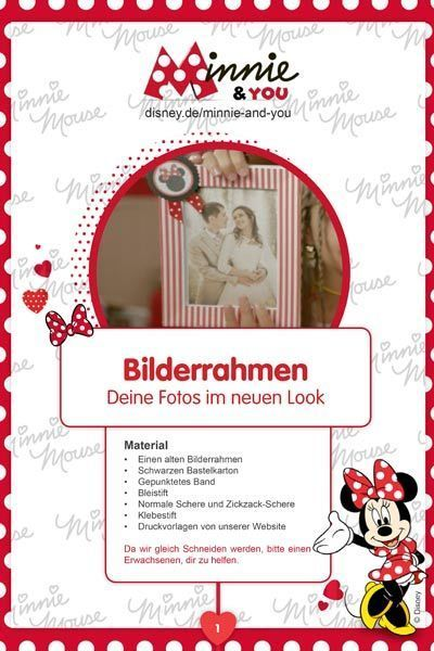 Minnie & You - Bilderrahmen
