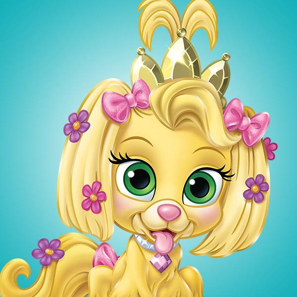 Rapunzels Hündchen Daisy