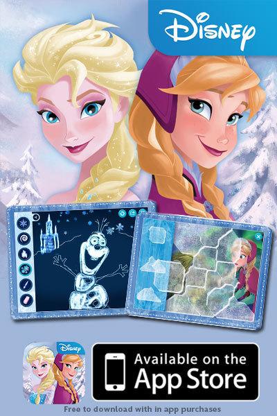 Frozen: Storybook Deluxe app