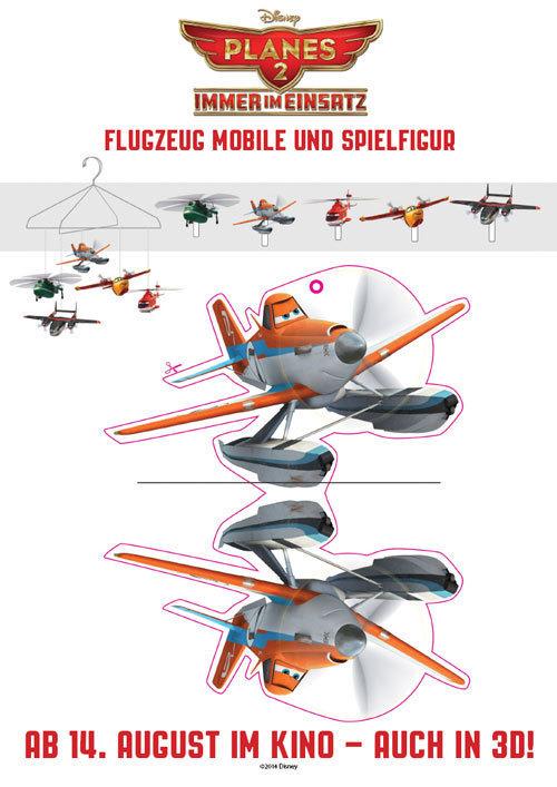 Flugzeug Mobile und Spielfigur