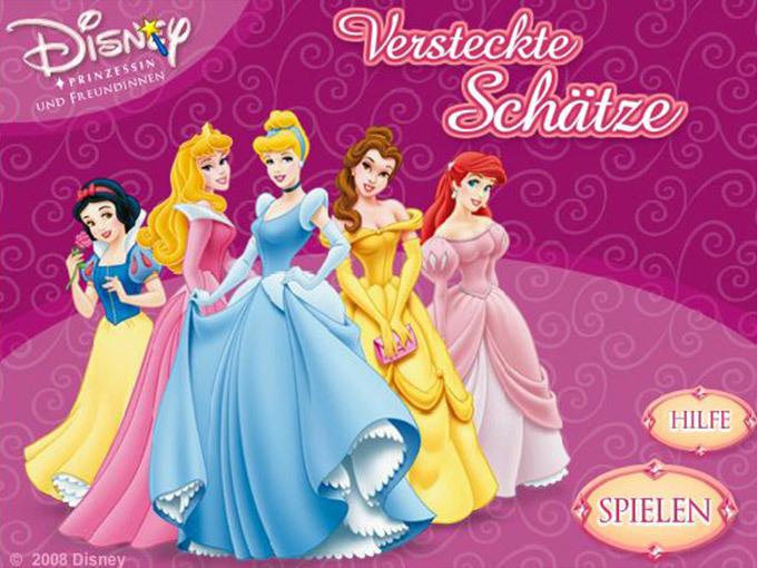 Disney Prinzessinnen - Versteckte Schätze