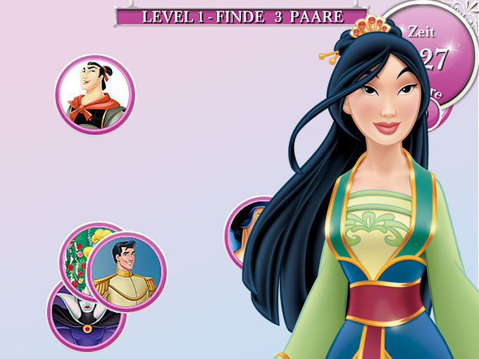 Disney Prinzessinnen - Perfekte Paare