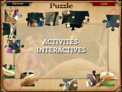 Raiponce - Activités interactives