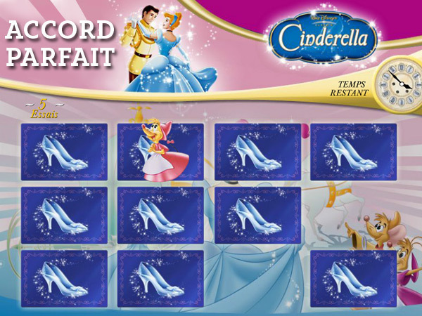Cendrillon - Accord Parfait