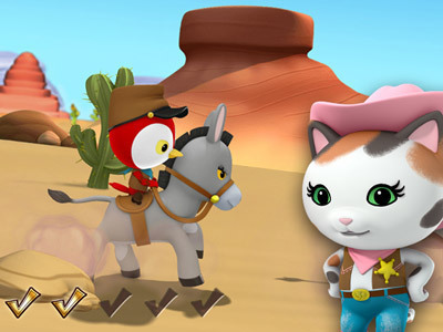Sheriff Callie - Deputy for a Day Game