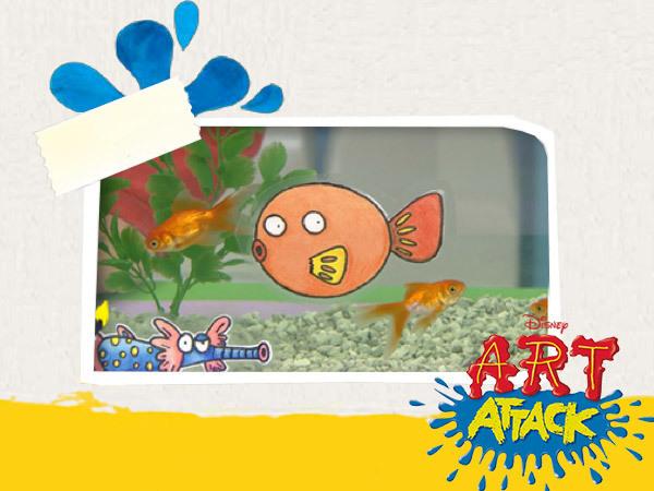 Aquariumaufkleber