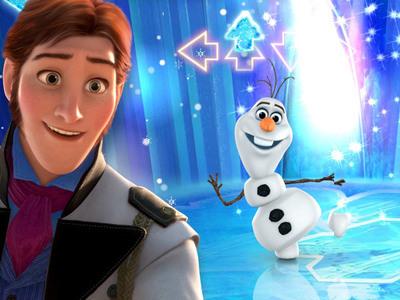 Play Olaf's Fancy Footwork