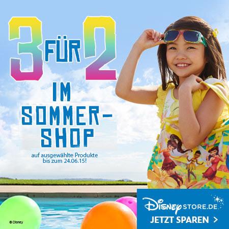 Disney Store Sommer-Shop