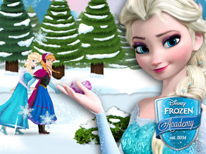 Play Frozen's Ice-skate