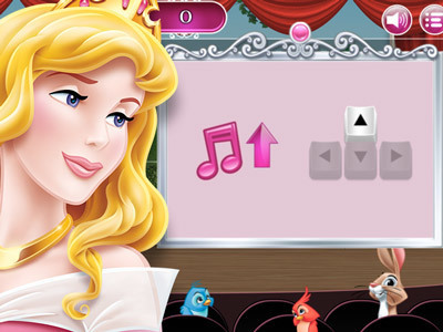 Play Aurora's Singing Practice