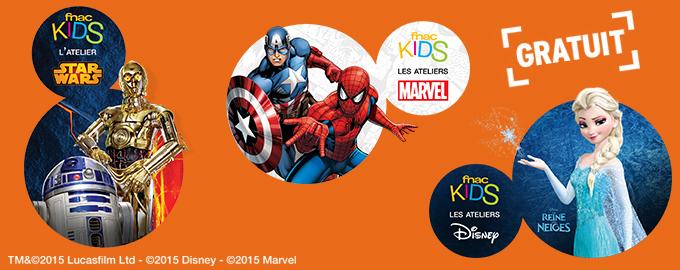 Ateliers Fnac Kids Disney