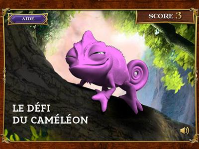 Raiponce - Le défi du caméléon