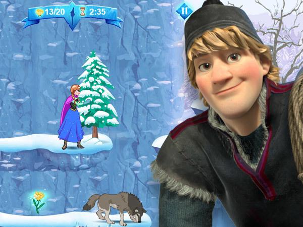 Jeu À la recherche d'Elsa
