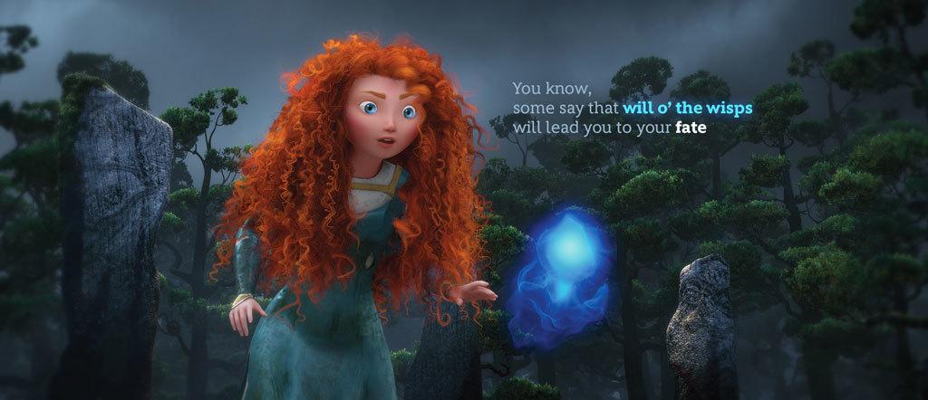 Merida Animated Quote - Wisps