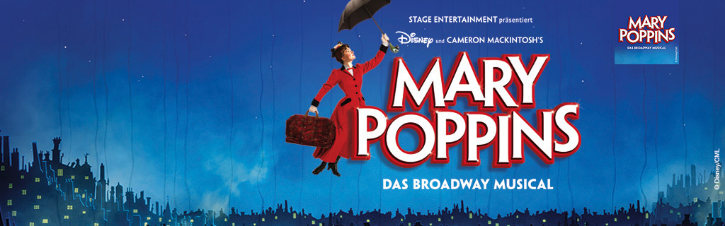 Mary Poppins - ab Herbst 2016 in Stuttgart - Live Home