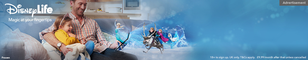 UK - Disney Life Short Hero - Frozen