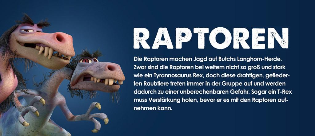 Arlo & Spot Character Raptoren