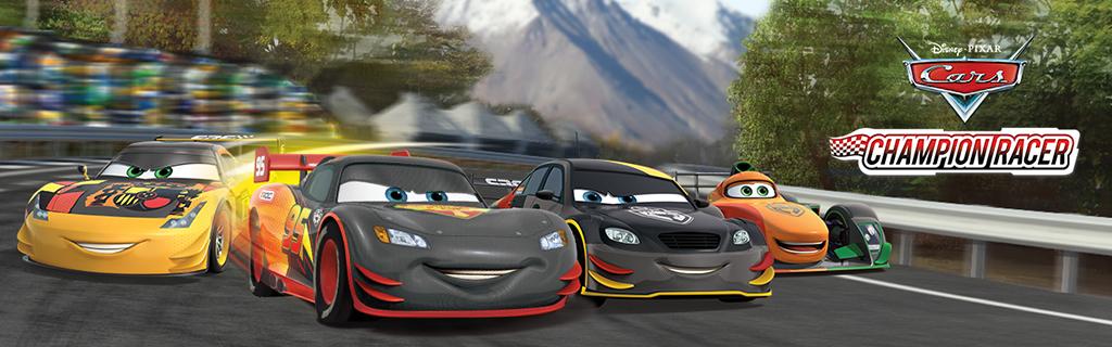 Cars Carbon Racers Landing Page