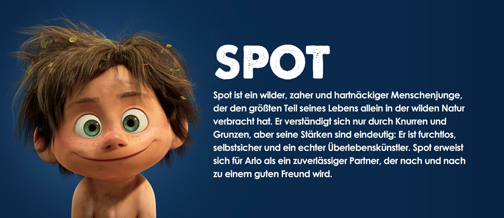 Arlo & Spot Character Spot