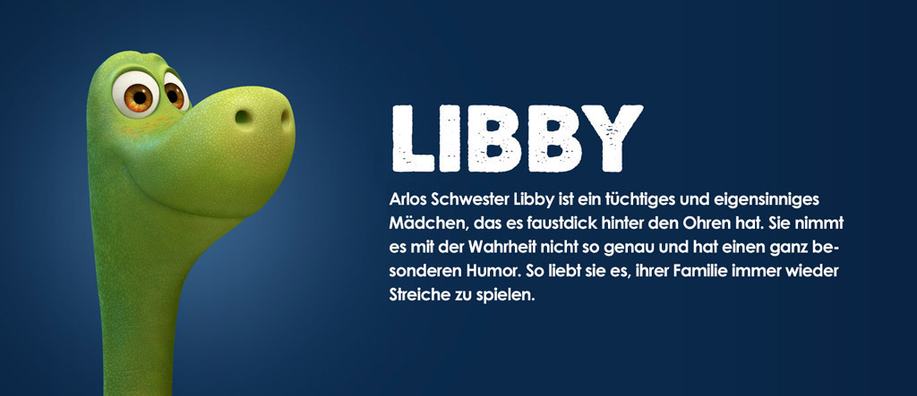 Arlo & Spot Character Libby