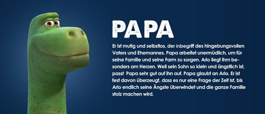 Arlo & Spot Character Papa