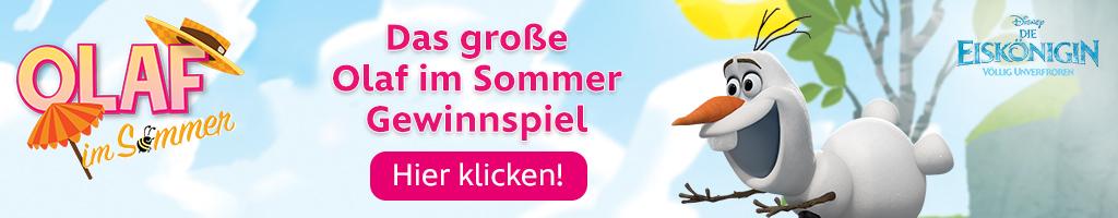 Olaf im Sommer Gewinnspiel