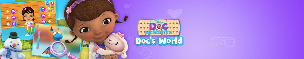 UK - Disney Junior Doc's World (Short Hero)