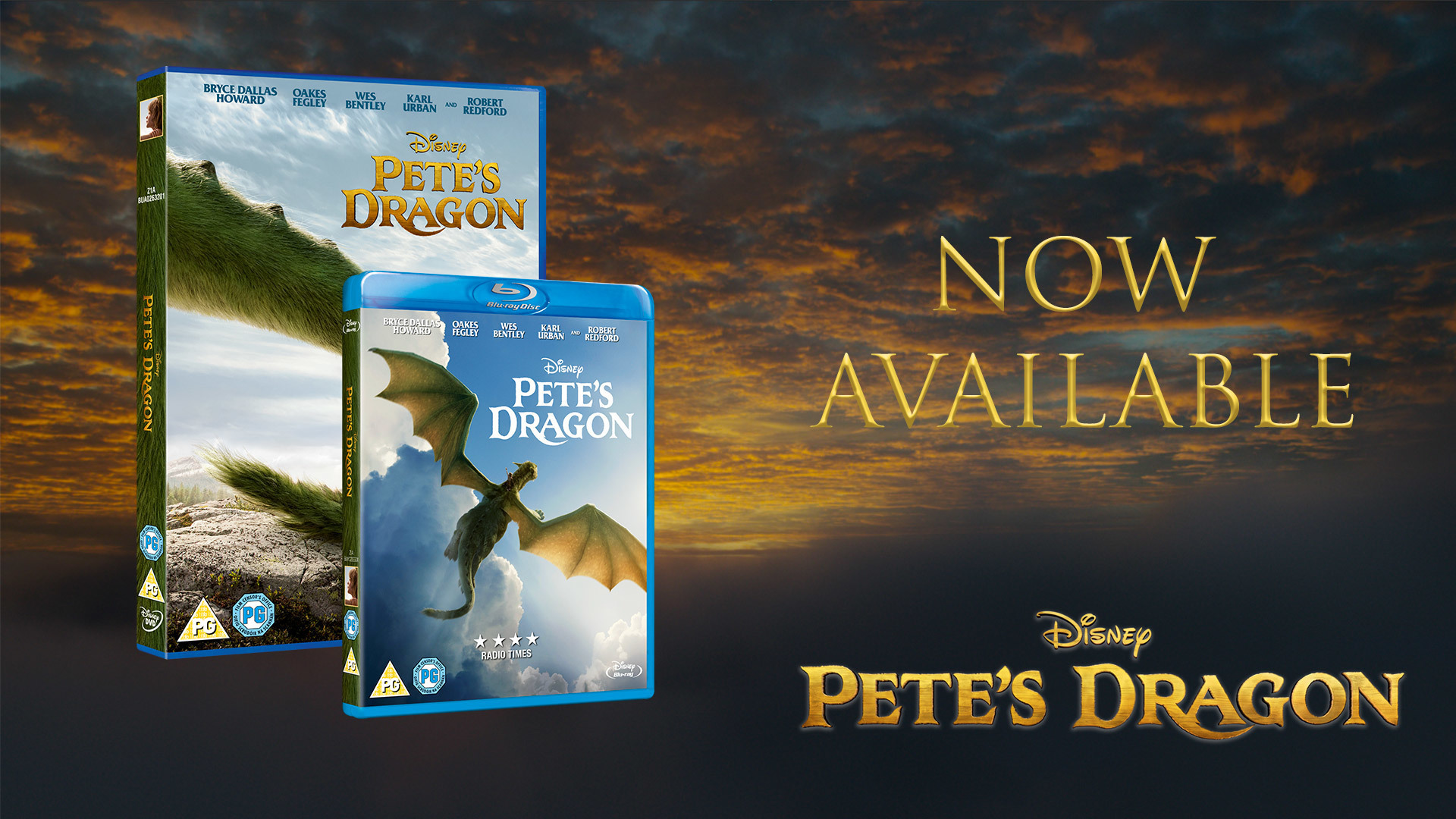 Own Pete's Dragon on DVD, Blu-ray and Digital Download