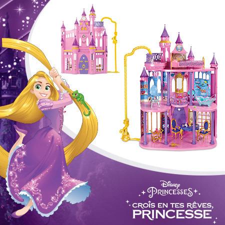 Un magnifique château Princesses à gagner !